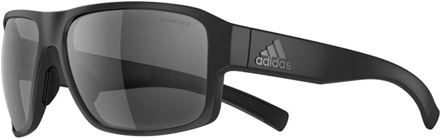 Adidas AD20 Jaysor Sunglasses  Black Matt  Polarized Lenses