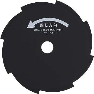 高儀 EARTH MAN 草刈8枚刃 160mm×8P 電気草刈機用 TB-160