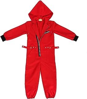 CoolChange Disfraz de los Ladrones de Casa de Papel Temporada 3 para niños- Talla: 130-150