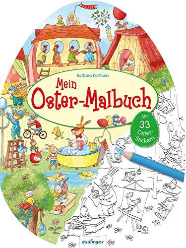 Oster-Malbuch