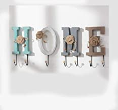 ZASEA Creativity Key Hooks Coat Hooks Wall Hanger Clothing Racks in Front of The Entrance of The Store Room Wall Decoration (Size : C)