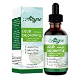 Liquid Chlorophyll Drops for Water, Energy Booster 60ml, Digestion and Immune System Supports, Drink Concentrate Liquid Drips