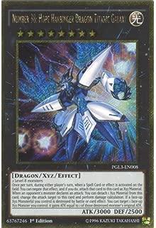 YuGiOh : PGL3-EN008 1st Ed Number 38: Hope Harbinger Dragon Titanic Galaxy Gold Secret Rare Card - ( Premium Gold 3 ) by Deckboosters