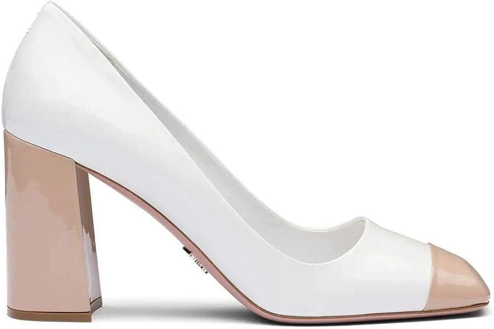 Prada luxury fashion scarpe décolleté da donna in pelle 1I001MF08506EF0YHC