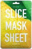 Una confezione di fette foglio Face Mask Confezione contiene due fogli, 6pz per foglio Taglio sagomato e in singole Lemon slices Contiene estratto di limone per alleggerire e illuminare la carnagione. Usare il numero o come poche come ti piace al tr...