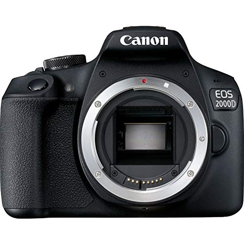 petit un compact Canon EOS 2000D DSLR Camera-Body-Black
