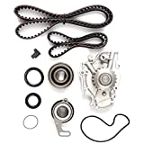 Timing Belt Kit including timing Belt water pump with gasket tensioner bearing etc,OCPTY Compatible for 90 91 92 93 94 95 96 97 Honda Accord/95 96 97 Honda Odyssey/96 97 Isuzu Oasis