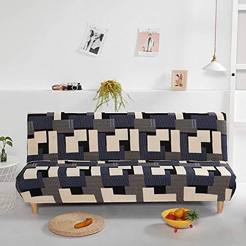 B/H elástico elástico extraíble Cubierta,Funda de sofá Todo Incluido, Funda de sofá Plegable elástica-O,Elastano elástico Funda de sofá