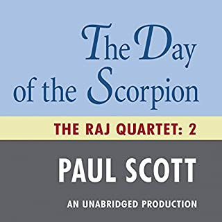 The Day of the Scorpion audiobook cover art