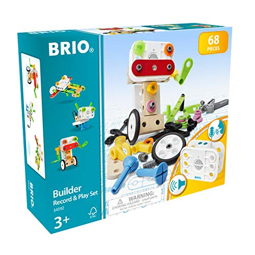 BRIO 34592 Soundmodul-Konstruktion 34592-Builder Konstruktionsset, 67tlg