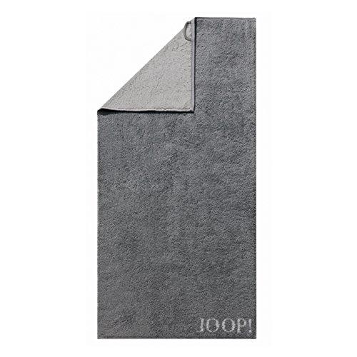 Joop! Handtuch Classic Doubleface 1600 | 77 anthrazit - 50 x 100