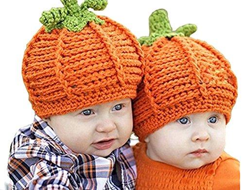 Pulama Babies Pumpkin Hat Halloween Baby Costume