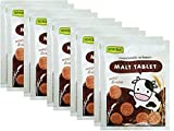 Roscela Tablet Malt Candy Thai Brand Sweetened Flavour Candy 20g,10 packs