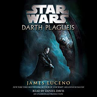 Star Wars: Darth Plagueis audiobook cover art
