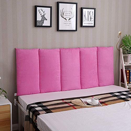 Auto lumbale kussen Hoofdeinde Hoofdeinde Kussen Soft Bed Pillow enkele of dubbele Muur Paste Large rugleuning Taille grote kussen (Color : #3, Size : 120x60cm)