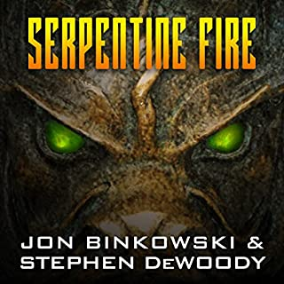 Serpentine Fire audiobook cover art