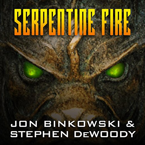 Serpentine Fire audiobook cover art