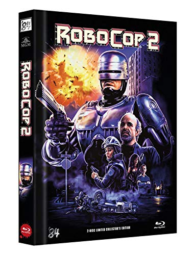 RoboCop 2 - 2-Disc Limited Collector's Edition - Uncut - Mediabook, Cover C (+ DVD) [Blu-ray]