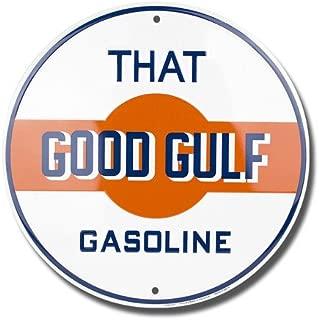 Signs 4 Fun SROG2 Gulf That Good Gasoline Round Sign