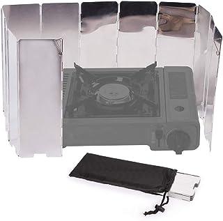 Estufa de Gas de Fuego Estufa port/átil de mochilero Coolty Estufa de Gas Ultraligera para Camping al Aire Libre Cocina y Quemador de butano