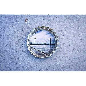 Düsseldorf Kronkorken Magnet Kühlschrankmagnet handmade Klassiker