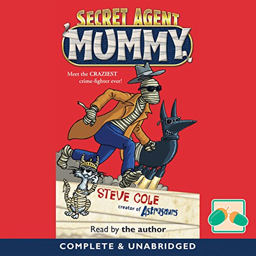 Secret Agent Mummy cover art