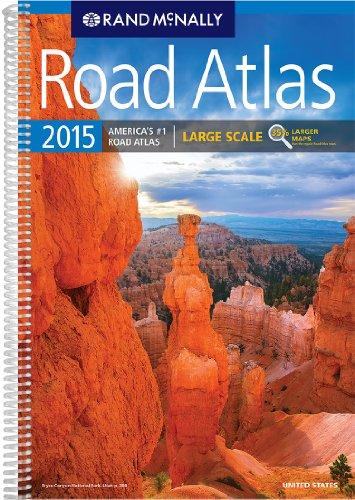Rand McNally 2015 Road Atlas United States: Large Scale [Lingua Inglese]