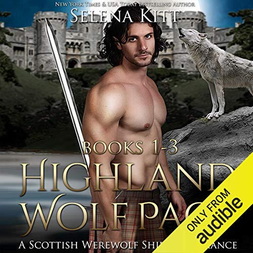 Highland Wolf Pact Boxed Set audiobook cover art