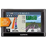 Garmin Nuvi 55LM 5' Touchscreen Car Sat Navigation GPS w/Lifetime Maps 0119-801 (Renewed)