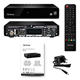 STRONG SRT 7006 Décodeur Satellite HD Sat Free to Air (Récepteur TV, HDMI, SCART, USB, Full HD 1080P) noir