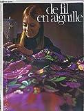 DE FIL EN AIGUILLE - N°24 - TRICOT - MODELE-CROCHET - CROCHET - BRODERIE - CANEVAS -...