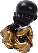 Baoblaze Resin Crafts Buddha Statue Cute Monk Figurine Car Ornaments Gifts - Style04 - Style01, as described