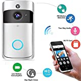 KOBWA Video Doorbell, Inalámbrico Videoportero 720P HD con Audio bidireccional...