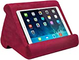 Ontel Pillow Pad Multi-Angle Soft Tablet Stand (Retail Packaging), Burgundy