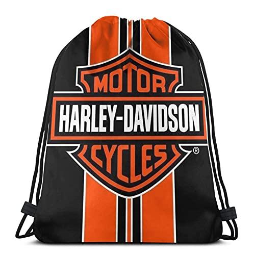 Motor Harley Motorrad Davidson Unisex Fútbol Natación Deportes Gimnasio Zapatillas de Viaje Mochila Mochila Plegable para Mochila Escuela Bolsa para Niños Niñas Hombres Mujeres