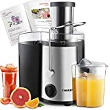 CHULUX Juicer, Centrifugal Juicer Machine, Juice Extractor Juice Maker with Big Mouth Feed Chute, High Juice yield, BPA-Free, Easy to Clean, Fruit and Vegetable Juicer Extractor