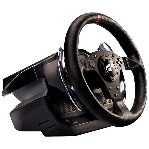 Thrustmaster T500 RS GT6 - Volante - PS3 / PC - Licencia Oficial Gran Turismo 6 - Force Feedback - Pedalera metalica de 3 pedales con 2 posiciones de montaje