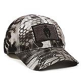 Kryptek Raid Camo Spartan Helmet Tape Patch Hunting Hat