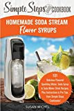 Homemade Soda Stream Flavor Syrups, A Simple Steps Brand Cookbook (Ed 2): 101 Delicious Flavored Sparkling Water, Soda Syrup & Soda Maker Drink ... (Sodastream Flavor, Soda Machine (Book 1))