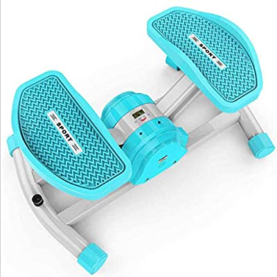 LJQ Wireless Bluetooth Step-by-Step Swing, Aerobic Fitness Swing, Large Non-Slip Pedal and Multi-Function Display for All Fitness Groups