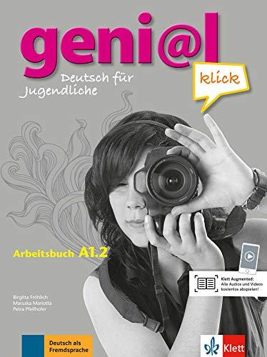 geni@l klick a1.2, libro de ejercicios con audio online: Deutsch für Jugendliche. Arbeitsbuch mit Audio-Dateien zum Download