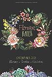 Flower Bauer Gartenplaner 2020 - Blumen Gemüse Kräuter: Gartenkalender 2020 | Gartengestaltung Notizbuch | Alle Aussaattermine | Wochen- & Monatsübersichten | A5 | 76 S.