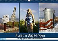 Kunst in Butjadingen 2022 (Wandkalender 2022 DIN A3 quer): Skulpturale Kunstwerke in Butjadingen an der Nordseekueste. (Monatskalender, 14 Seiten )
