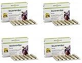 BIOSLINE - BUONERBE FORTE 4 CONFEZIONI DA 30 COMPRESSE, regolarità del transito intestinale, intestino pigro