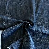 Tessil Point Denim Stoff Elasticiert, Farbe Blue mit Stone