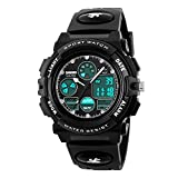 Skmei - Reloj deportivo analógico digital impermeable para...