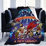 Space Jam Throw Blanket Ultra Soft Stylish Bedroom Living Room Sofa Warm Flannel Blankets50 X40