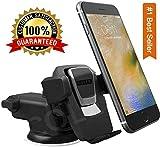 CQLEK® 1Press Car Mobile Phone Holder - Telescopic One Touch Long Neck Arm