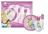 Disney Junior Elf Fairytale Princess Cofanetto Regalo Eau De Toilette - 50 ml, Borsetta Rotonda, Lucidalabbra Disney Princess