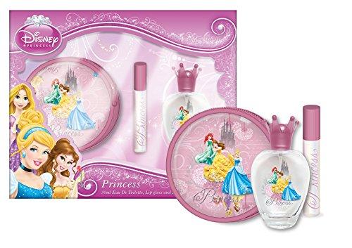 Junior Elf Fairytale Princess - Disney Cofffet Geschenk Eau de Toilette mit einem runden Handtasche und Lipgloss, 1er Pack (1 x 266 ml)